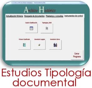 Estudios de Tipología Documental
