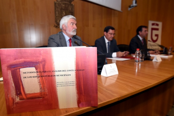 Diputación presenta un estudio que analiza el coste y la calidad de los servicios públicos municip